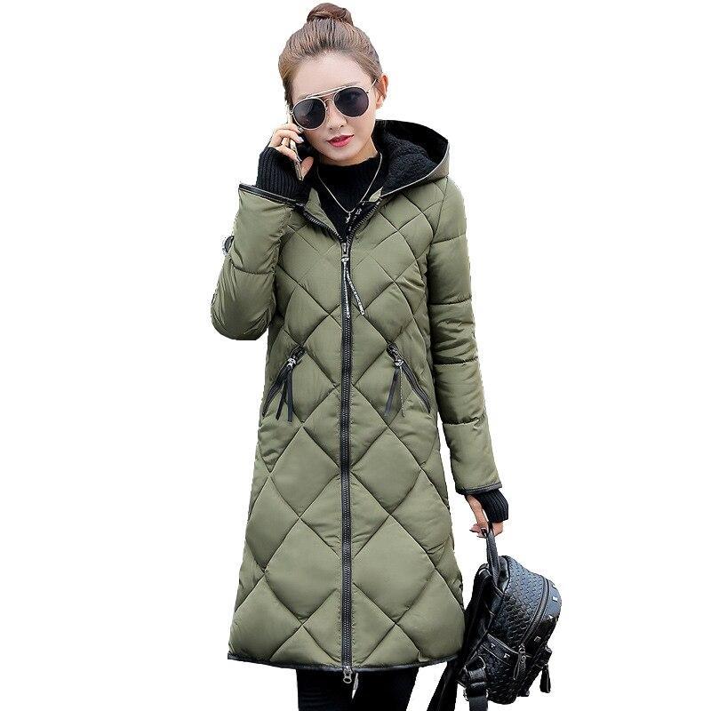 2017 New Hot Fashion Women Parkas  Winter Jacket Long Sleeve  Zipper   Outwear Thick Winter Women Coat  CC205Îäåæäà è àêñåññóàðû<br><br>