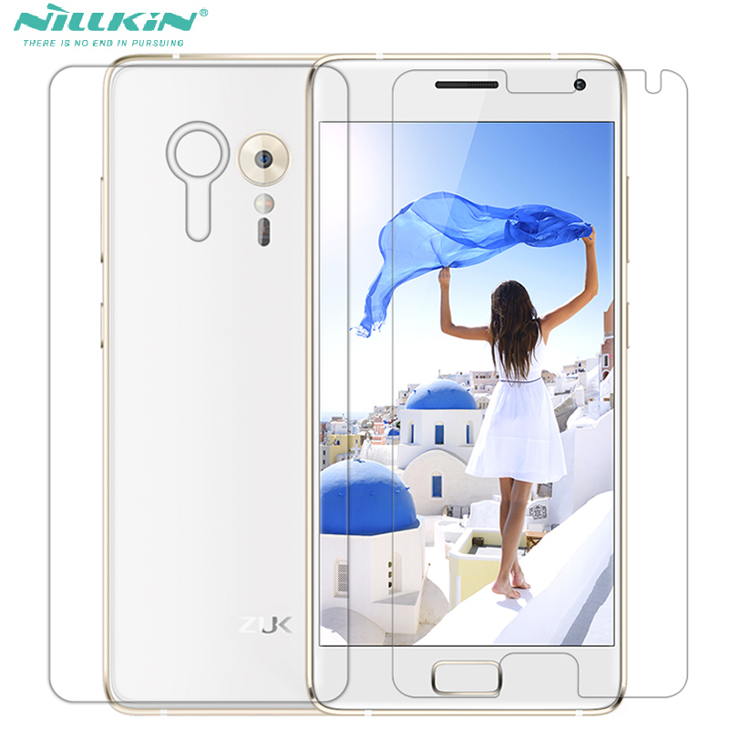 Whole Unit Nillkin 5.2inch PET Front Screen Protector Lenovo ZUK Z2 PRO Z2PRO + Back Protective Film
