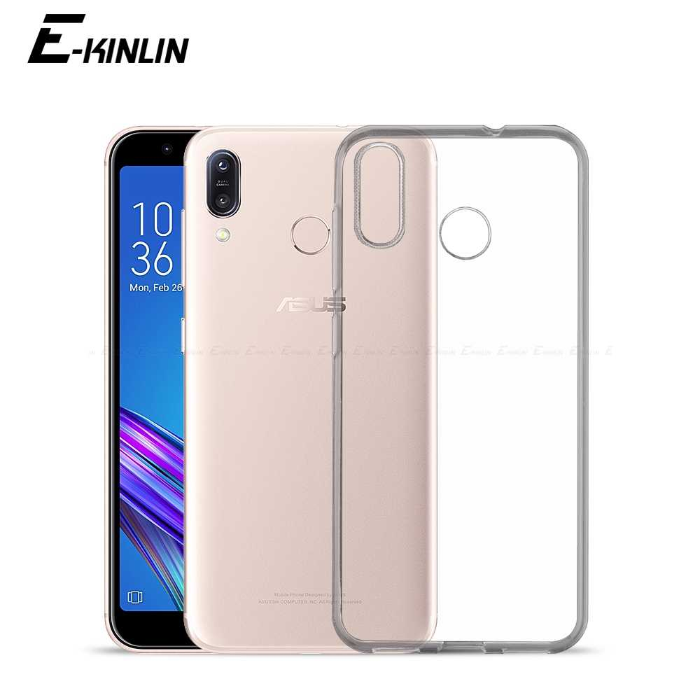 Ultra Slim Clear Silicone Case For Asus ZenFone Max Pro Plus M2 M1 ZB631KL  ZB633KL ZB602KL 3d513b1c7fb8