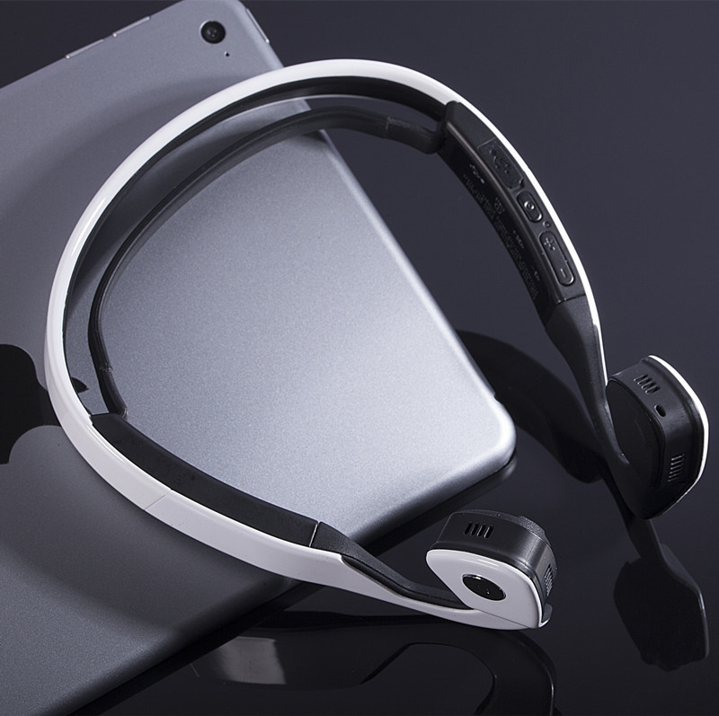 High quality Bone Conduction Headset S.Wear Bone Headset Bone Conduction Earphones Bluetooth Headset Stereo Headphones with box<br>