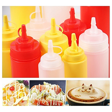 8-24 OZ Bottle Squeeze Dispenser Ketchup Condiment Mustard Sauce Vinegar 230-680ml Gravy Boats Kitchen Tools & Gadgets(China)