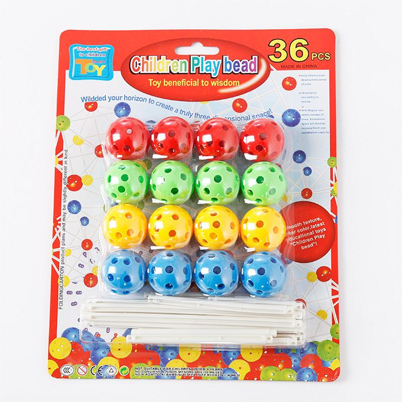 Educational Stringing Beads Game Blocks Toys Birthday Gift For Children Baby<br><br>Aliexpress