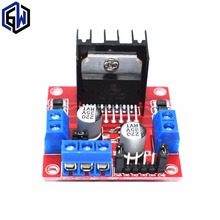 TENSTAR ROBOT 1PCS Dual H Bridge DC Stepper Motor Drive Controller Board Module L298N(China)
