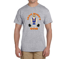 Iron Mike Ditka T-Shirt 100% cotton t shirts Mens boyfriend gift T-shirts for fans 0216-24(China)