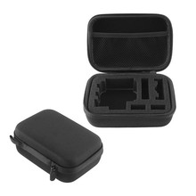 2016 New Arrival Carrying Case Pouch Bag Case Zip Black for Digital Camera GoPro Hero 1 2 3 3+