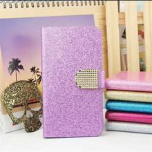 Luxury Bling Glitter Flip PU Leather Cover Case For BlackBerry Classic Q20 BlackBerry Q20 Full Protector Original Skin Cover(China)