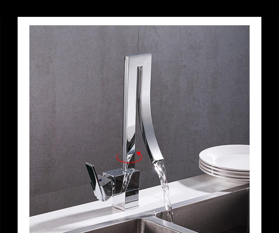 Großhandel Frap Contemporary Küchenarmatur New Style Mixer Kalt Und ...