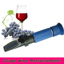 Best price 3 In 1 Brix & Alcohol Grape Wine Refractometer 0-25%vol P-RHW-25DATC(China)