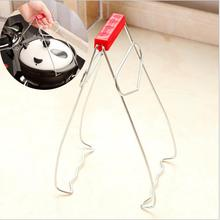Utility Model Kitchen Dish Clip Multi Functional Tray Lifting Device Holding Stainless Steel Pot Bowls Clips Hot Sale