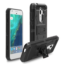 Heavy Duty Rugged Case Kickstand Belt Clip Holster Shockproof Cover For Alcatel A30 Plus/A30 Fierce 2017/Walters/TMOBILE REVVL(China)