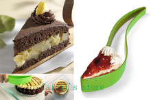 New Cake Pie Slicer Novel Practical Small cake Slice Knife Kitchen Gadget cake cutter tools Cooking tools