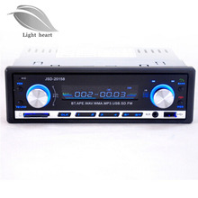 Car MP3 Brand New 12V BLUETOOTH 1-Din Stereo Radio MP3 USB/SD AUX Audio Player Car in Dash 60Wx4 for phone Free shipping