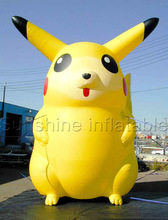 Customize giant catoon characters inflatable pikachu(China)