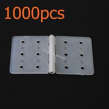 Wholesale 1000pcs/Lot Nylon Pinned Hinge 20x36 RC Airplanes Parts Electric Model Plane Aeromodelling Flymodel FM12-202
