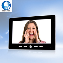 10 inch TFT Color Video Door Phone Intercom Entry System Black Color Video Door Bell Monitor Without Outdoor Camera High Quality