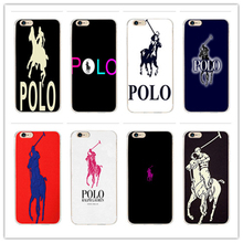 Luxury fashion brands, for POLO Design case cover cell phone cases for iphone 4 4 s 5 5 c 5 s SE 6 6 s plus 7 7 plus hard shell