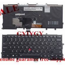 Free shipping Laptop keyboard for ibm  Lenovo X240 X240S X250 US backlit keyboard 04X0177 0C43982 04X0215