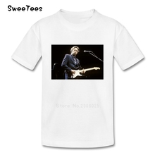 Eric Clapton Picture Children T Shirt Cotton O Neck Toddler Short Sleeve Tshirt Tees Boy Girl 2017 Infant T-shirt For Baby Kid