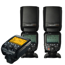 Yongnuo 2pcs Yn600ex-rt II Wireless HSS Flash with Yn-e3-rt Radio Transmitter Set Light for Canon 1dx 1ds III 1d 5diii 5dii 6d(China)