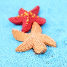 30pcs Mediterranean style Resin Starfish Small ornaments Aquarium Micro landscape Bonsai Decoration Figurines & Miniatures BJ01