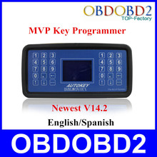 Best Quality MVP Key Programmer Newest V14.2 MVP Pro Auto Diagnostic Code Reader Support English Or Spanish Free Shipping