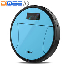 2017 Smart Robot Vacuum Cleaner for Home Automatic charging Sweeping Dust Sterilize Gyro navigation Planned Water mop DIQEE A3(China)