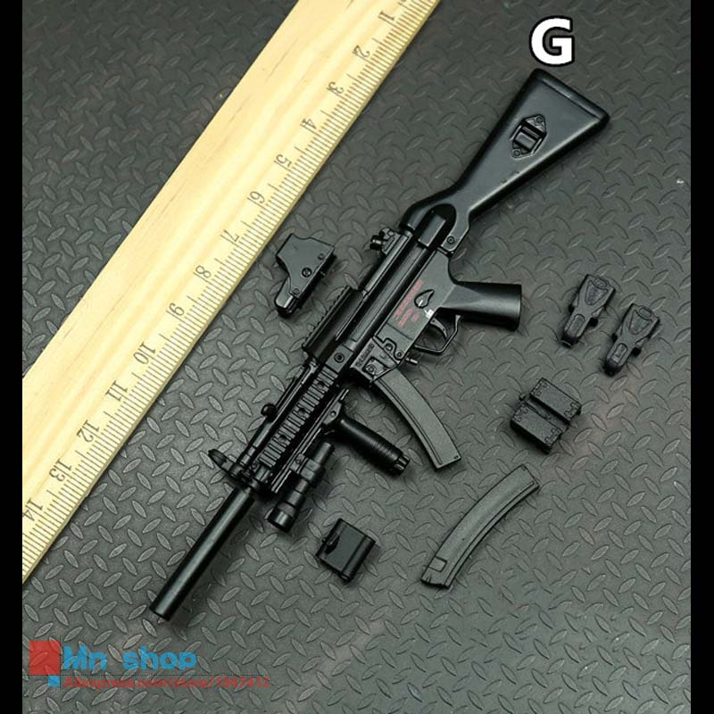 1/6 Soldier Figure Accessory About 10cm Removable Weapon Series Model For Military 12 Action Figure<br>
