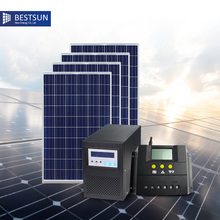 Factory design power residential On Grid tied Off Grid Solar Power System Solar station for home Sets of solar panels(China)