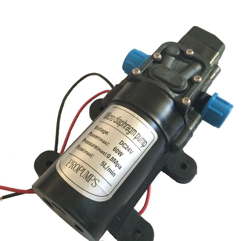 Free shipping!! Micro Diaphragm pump 0142YB 24V 60W Self-Priming pump Spray pump 0.8MPa 5L/min Max Head 50M<br><br>Aliexpress