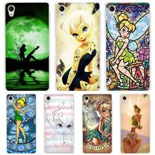 Tinkerbell hard Transparent Case Cover Coque for Sony Xperia z1 z2 z3 z4 z5 m4 aqua m5 XA XZ C4 E4 E5 C5