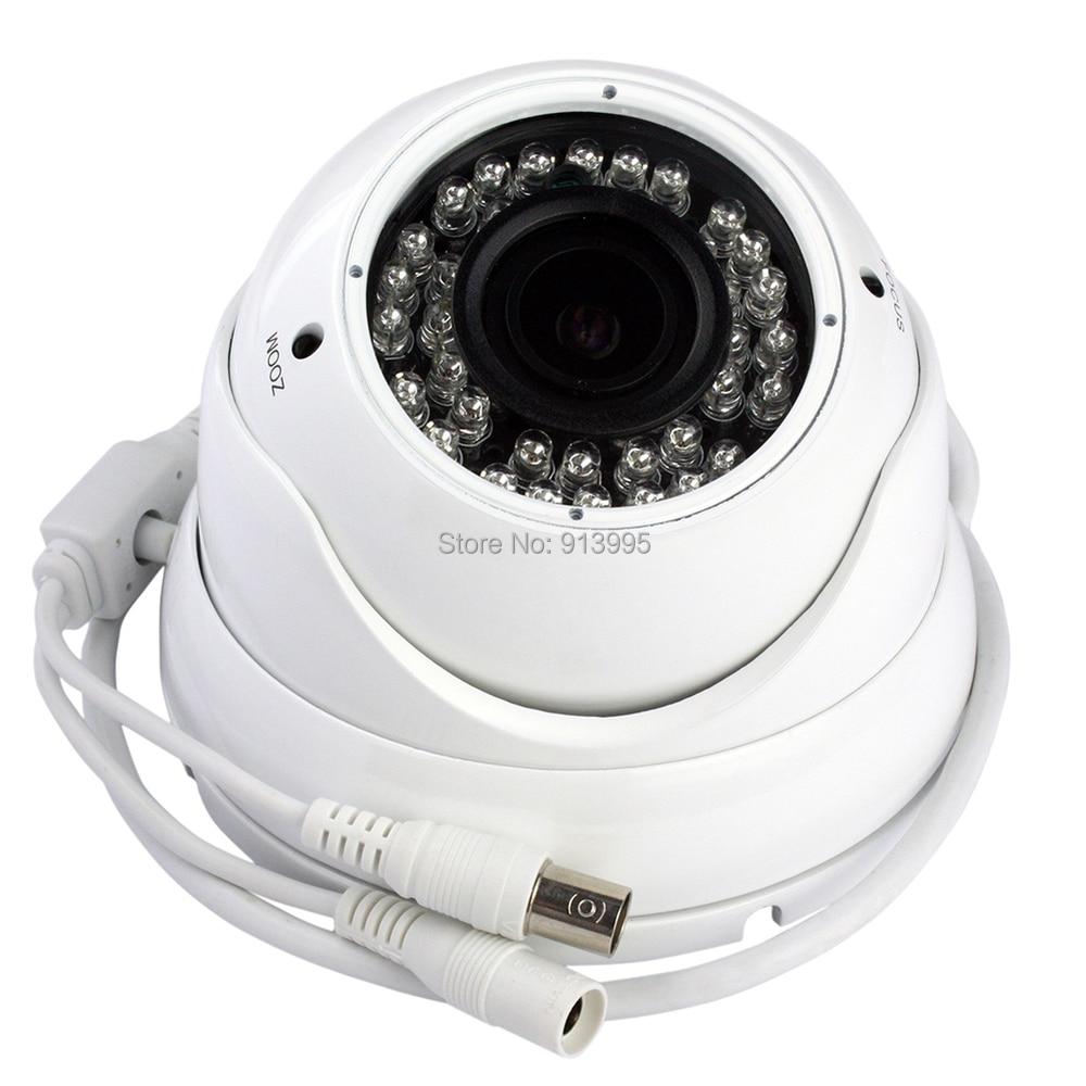 1/4 CMOS 2.8-12mm varifocal manual zoom lens dome cctv security IR camera AHD camera 720P outdoor<br><br>Aliexpress
