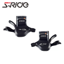 S-Ride SL-M400 MTB 10 Speed Triple Black Conjoined DIP Shifters Derailleur 30 Speed Mountain Bike Part Compatible for Shimano(China)