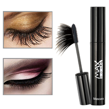 New Hot Natural Fast Dry Mascara Waterproof Black Eyes Lash Extension Curling 3D Mascaras Makeup Cosmetics