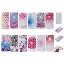 Mobile Phone Cases For Huawei Y6 II Y6II ll 2 Ultra Clear Silicon Mandala Flower Butterfly Thin TPU Gel Cases Etui Capinha Coque(China)