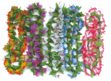 10 Pcs New Fashion Party Supplies Hawaiian Decorations Flower Leis Flower Wreath(China)
