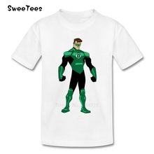 Green Lantern Superman Children T Shirt Infant Cotton O Neck Kid Tshirt 2017 Toddler Tops Boy Girl T-shirt For Baby