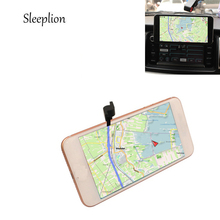 "Sleeplion Car CD Slot Magnetic Attract Mount Mobile Phone Holder For Iphone X 8 7/7Plus 6G/6S/6S 4.7"" 5.5"" Plus 5G 5S(China)"