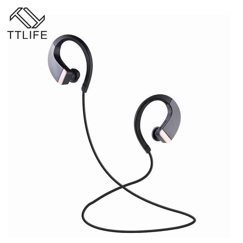 Ear Hook Wireless Bluetooth 4.1 Stereo Earphone Fashion Sport Running Headphone Studio Music Headset with Microphone<br><br>Aliexpress