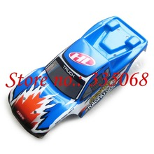 HENGLONG 3851-3 RC mini car Sacker sport 1/18 spare parts no.12002 Blue Car body shell / car shell / car body