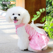 Lovely Pet Dog Clothes Clothing For Pet Small Dog Coat Yorkies Clothes Gorgeous Jackets Formal Dress Dogs Costumes(China)