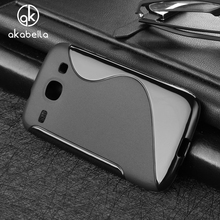 AKABEILA Soft TPU Phone Cases For Samsung Galaxy Core I8260 I8262 GT-I8262 8260 GT i8262 8262 Silicone  Cover Simple Elegant
