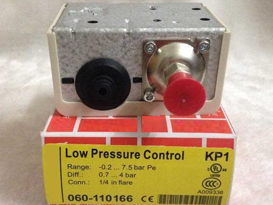 Free Shipping KP1 060-1101 Pressure controller switch relay Pressure switch Automatic reset 1/4 in flare -0.2~7.5bar<br>