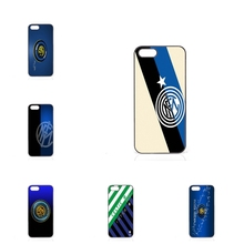 Hard PC Skin Accessories fc inter milan logo For Apple iPhone 4 4S 5 5C SE 6 6S 7 7S Plus 4.7 5.5 iPod Touch 4 5 6