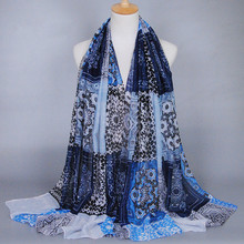 Scarf female spring and autumn long design bohemia cape shawls head women hijab muslim wrap cachecol scarves echarpes