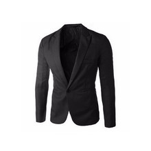 2017 Brand Clothing Blazer Men One Button Men Blazer Slim Fit Costume Homme Suit Jacket Masculine Blazer Size M-3XL