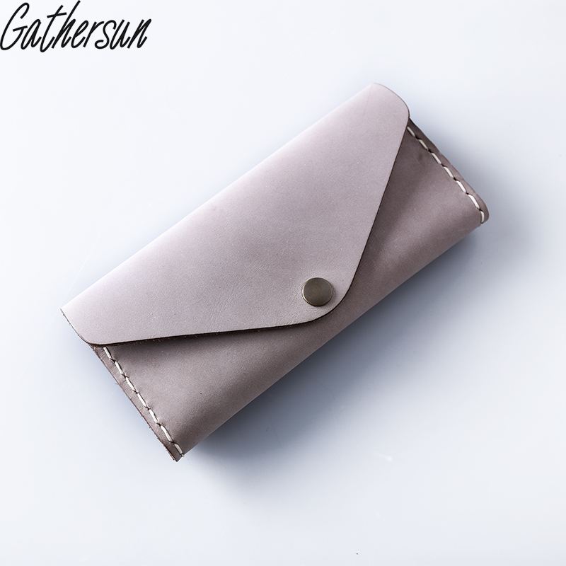 Gathersun Genuine Leather Women Wallets And Purses Real Leather Clutch Wallet Female 2017 New Design Cowhide Bag <br>