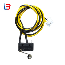 tronxy 3D printer part limit switch KW11-3Z roller lever Endstop for 3d PRINTER with wiring COM and NO ac 5A 250V 20*10*6mm size(China)