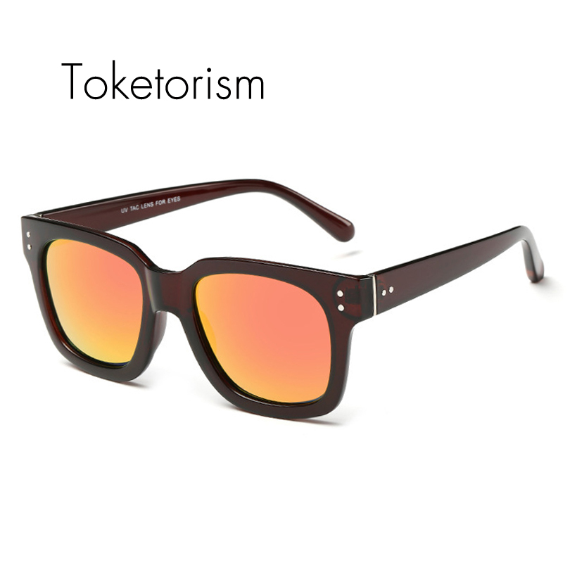 Unisex Super Retro tr90 ultra light glasses frame Rivets vintage polarized Coating Sunglasses 4038<br><br>Aliexpress