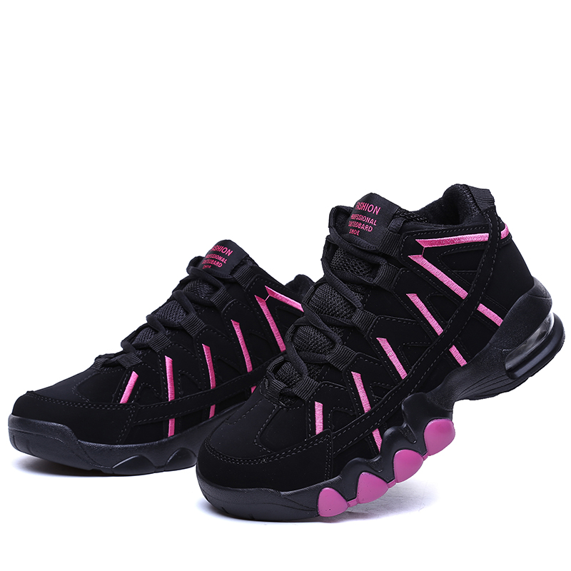 2017 Women Basketball Shoes Lace Up Sneakers Female Outdoor Sports Non Slip Shoe Girls Breathable Zapatos Mujer Basquete Scarpe<br>