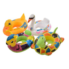 Cartoon Animal Inflatable Swimming Pool Seat Float Boat Baby Kids Water Sports Accessories